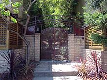 Entry to Loma Vista Apartments Courtyard